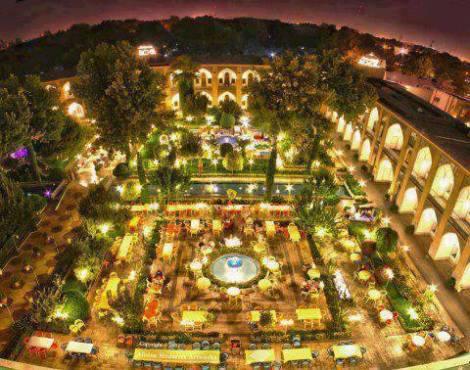 هتل شاه عباسی-اصفهان