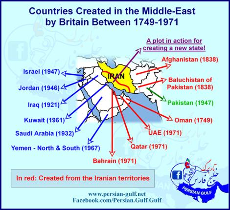 محبت انگلستان به ایران در طول تاریخ
