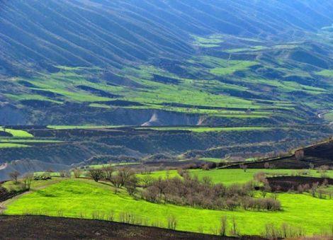 جوانرود در شمال غرب استان کرمانشاه
