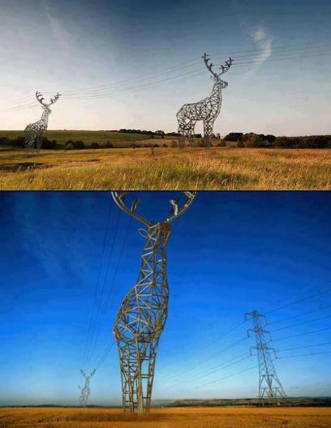 Modern Electricity Pylons