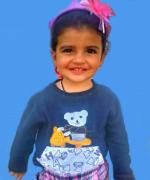 ملیکا قنبری کودک 2 ساله